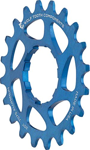 Single Speed Sprocket - Wolf Tooth Components Single Speed Aluminum Cog 20T, Fits 3/32