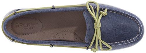 Sperry Top-sider Vrouwen Jewelfish Lace Linnen / Haver Bootschoen Marine
