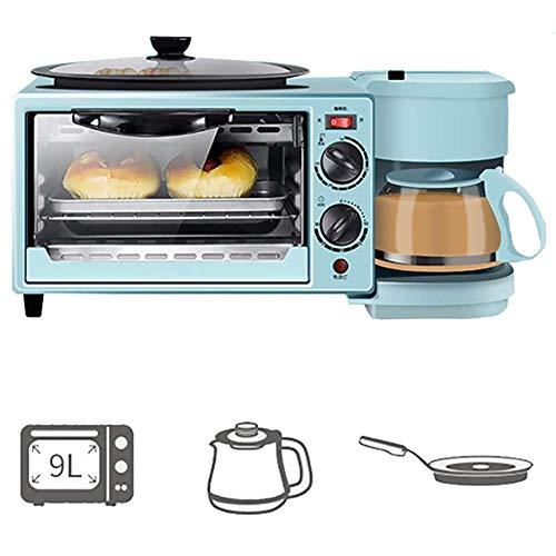 Oven 2200 (W), Ontbijtmachine 45 * 18 * 26Cm Met Antiaanbaklaag En 0,6 L Koffiezetapparaat Met Actuele Scherm Met Kaken…