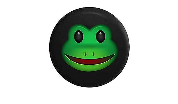 Rana de texto Emoji cara para neumáticos: Amazon.es: Coche y ...