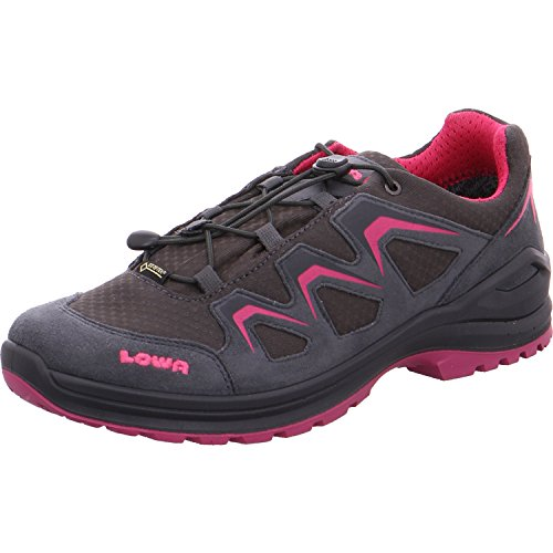 Fille Chaussures pour 9782 Beere Graphit Montantes 350128 Lowa wqxTa4Xq