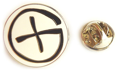 Geocaching GeoCoin PathTag Logo Hat Jacket Tie Tack Lapel Pin