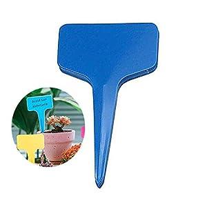 WFWUK Etichette vegetali per Fiori Etichette vegetali Colorate Etichette per Piante in Vaso Tag Giardino Etichette per… 11 spesavip