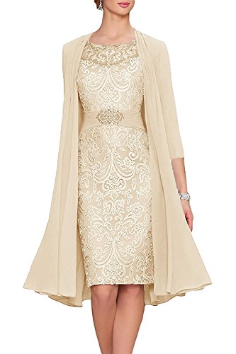 Women S Mother Of The Bride Cocktail Dresses With Jacket Wedding