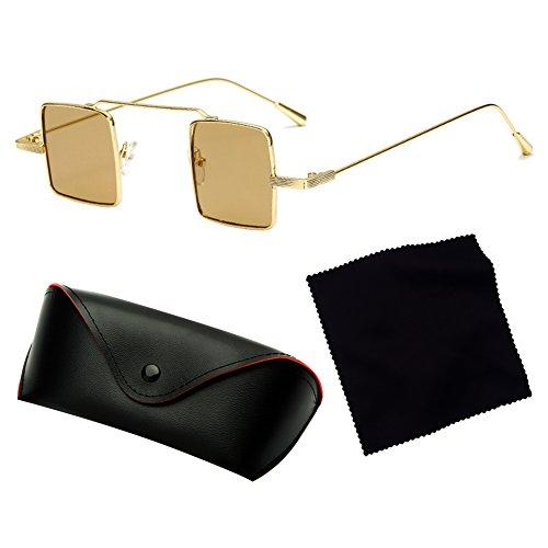 pour Frame femmes Shades soleil Square et C2 lunettes Résine extérieure Yying de hommes métal qUxCwv4Z