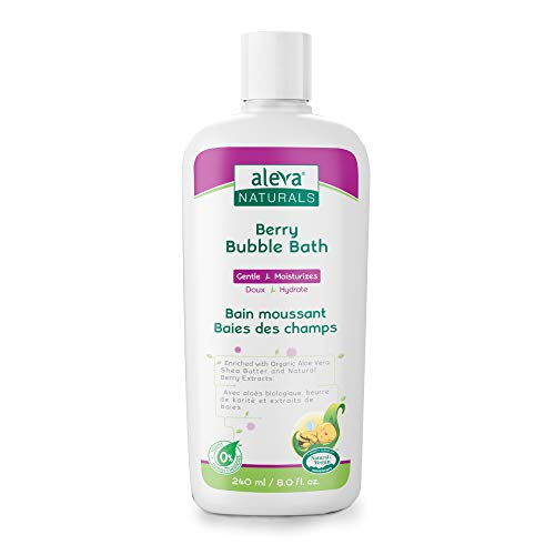 - Berry Bubble Bath | Specially Made for Sensitive Skin | Long Lasting Bubbles | Moisturize and Protect Skin | Made with Natural and Organic Ingredients | (8 fl.oz / 240ml)