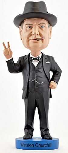 Royal Bobbles Winston Churchill Bobblehead