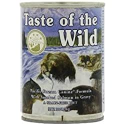 Taste of the Wild Pacific Stream Canned Dog Food, (10 -13.2 oz Cans)