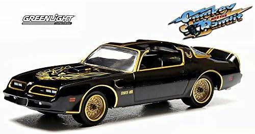 [해외]Greenlight Smokey and The Bandit 1977 Pontiac Trans Am Black 44710A - 164 Scale Diecast Model Toy Car / Greenlight Smokey and The Bandit 1977 Pontiac Trans Am, Black 44710A - 164 Scale Diecast Model Toy Car