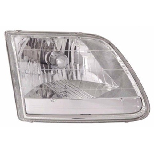 Go Parts » Compatible 1996 2004 Ford F 150 Front Headlight Headlamp Assembly Front Housing Lens Cover Left Driver Side Lariat Stx Xl Xlt 3l3z 13008 Ha Fo2502211 Replacement For Ford