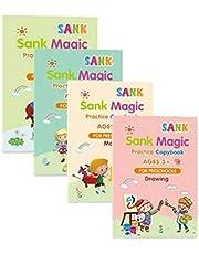 Magiska Skriv- & Ritböcker för Barn