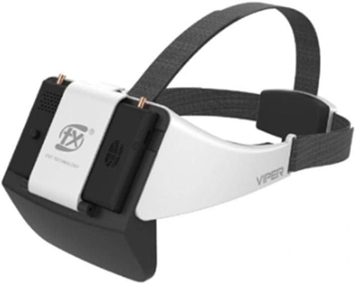 HELEISH Nueva versión V2.0 FXT Viper 5.8GHz Diversity HD FPV Gafas con DVR Refractor Incorporado for RC Drone Piezas de Montaje de Bricolaje