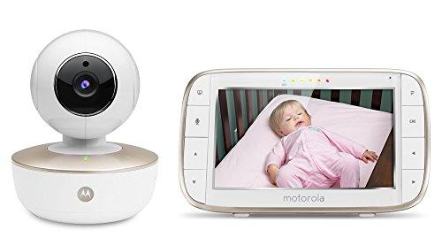 Motorola MBP855CONNECT Portable Baby Monitor product image