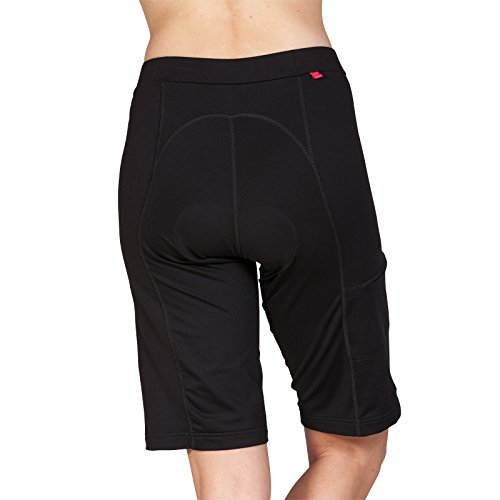 Terry Liberty Bike Shorts for Women - Loose-fit Leg Elastic-Free Opening Breathable Moisture Wicking Fabric – Black – X Small by Terry (Image #2)