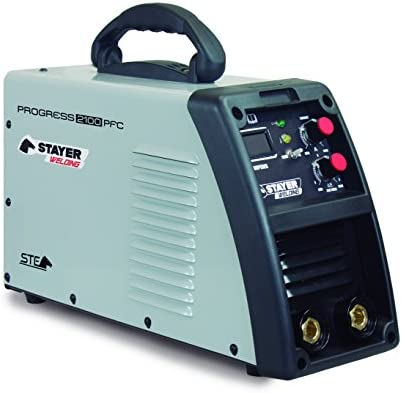Stayer Welding Progress 2100 PFC- Soldadura Por Electrodo Progress 100%, 230A 6Mm 8,4Kg, Kva 2-6