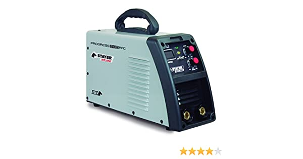 Stayer Welding Progress 2100 PFC- Soldadura Por Electrodo Progress 100%, 230A 6Mm 8,4Kg, Kva 2-6: Amazon.es: Bricolaje y herramientas