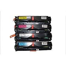 4PK TONER4U® Value Pack CF210X CF211A CF212A CF213A New Compatible Toner Cartridge Color Set for HP131X, HP131A LaserJet Pro 200 Color M251n, HP LaserJet Pro 200 Color M251nw, HP LaserJet Pro 200 Color M276n,Pro 200 Color M276nw-CF210A TONER4U