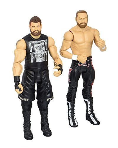 WWE Sami Zayne & Kevin Owens Action Figure (2 Pack) by WWE