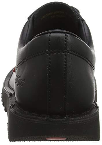 Lo Kickers Donna Nero Stringate Kick Scarpe Derby Core black Basse 1wFRxq5S