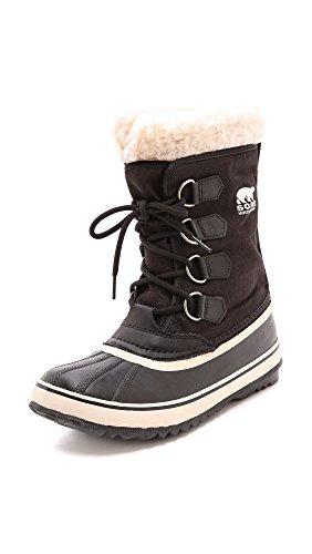 SOREL Women's Winter Carnival Snow Boot Black/Stone