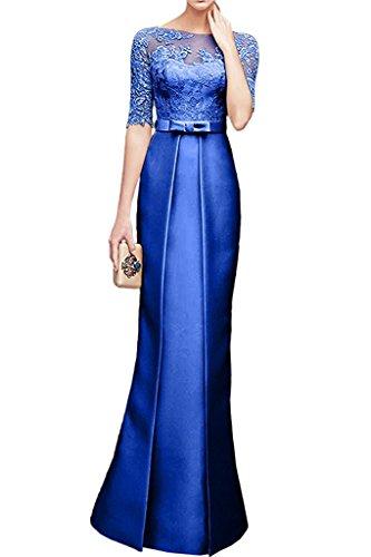 Braut Festlichkleider Abschlussballkleider Damen Blau Abendkleider Royal Marie Etuikleider Partykleider La Tanzenkleider qg1OwO
