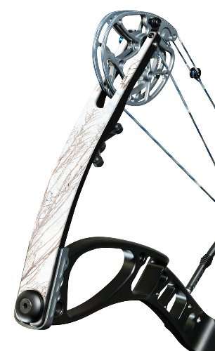 (Mossy Oak Graphics 18007-WB Winter Brush 'Compound Bow/Crossbow' Limb Skin)