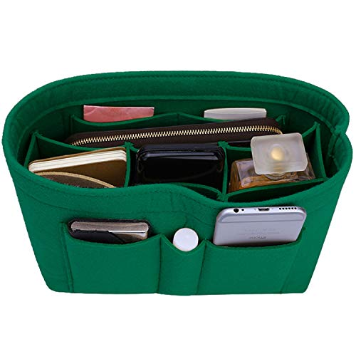 Felt Insert Bag Organizer Bag In Bag For Handbag Purse Organizer, Six Color Three Size Medium Large X-Large (Large, ()