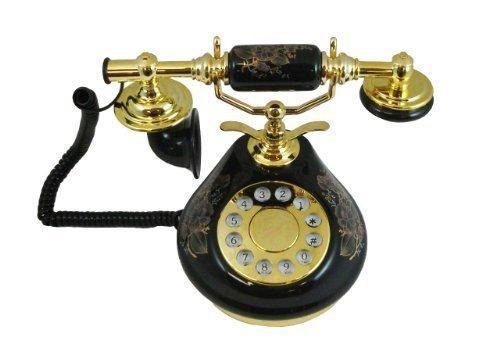 Black Porcelain Classic Home Phones Replica (Porcelain Phone)