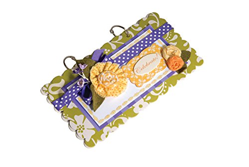 Sizzix Bigz XL Die - Album, Scallop Rectangle #2 by Rachael Bright