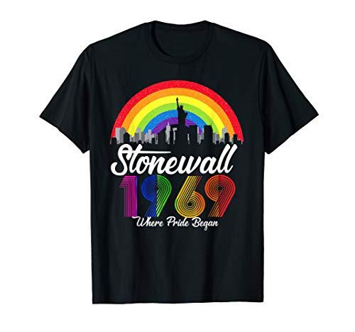 90's Style Stonewall 50th NYC Gay Pride LBGTQ Rights Shirt