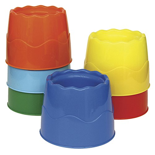 Creativity Street Stable Water Pots, Assorted Colors, 4.5