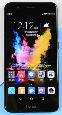 bolsa del cinturón / funda para Huawei Honor 8 Pro, negro | caja del teléfono cubierta protectora bolso - K-S-Trade (TM)