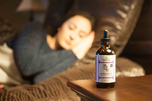 Lavender Essential Oil - Highest Quality Therapeutic Grade Backed by Research - Largest 4 Oz Bottle with Premium Glass Dropper - 100% Pure and Natural - Guaranteed Results - Essential Labs by Essential Oil Labs (Image #5)