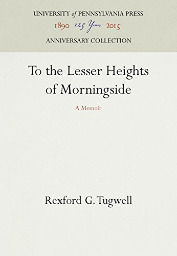 To the Lesser Heights of Morningside: A Memoir