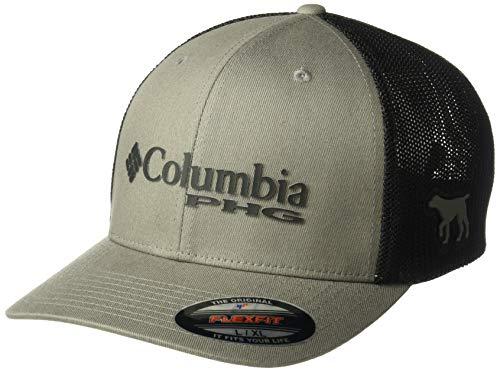 Columbia Unisex PHG Mesh Ball Cap, Titanium, Dog, Large/X-Large