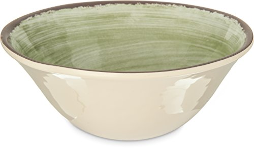 Carlisle 5400446 Mingle Melamine Ice Cream Bowl, 27 oz, Jade (Bowl Ice Melamine Cream)