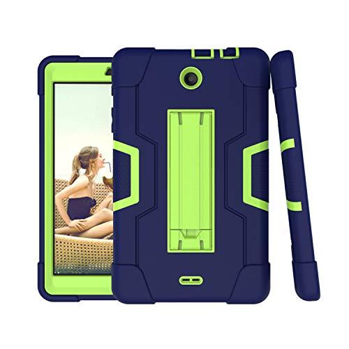 For Alcatel 3T 8.0 Case,Alcatel Joy Tab 8.0 Case,Cherrry Heavy Duty Rugged Hybrid Shockproof Full-Body Protective Case…