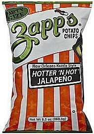 Zapps Potato Chips 1.5 Ounce 30 Count (Jalapeno)