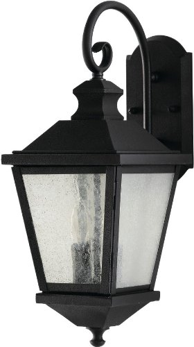 - Feiss OL5701BK Woodside Hills Outdoor Patio Lighting Wall Lantern, Black, 2-Light (8