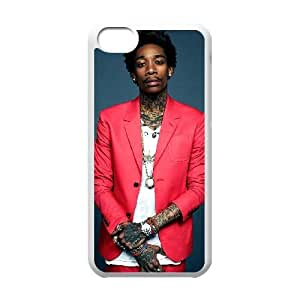Hjqi - Customized Wiz Khalifa Phone Case, Wiz Khalifa DIY Case for iPhone 5C