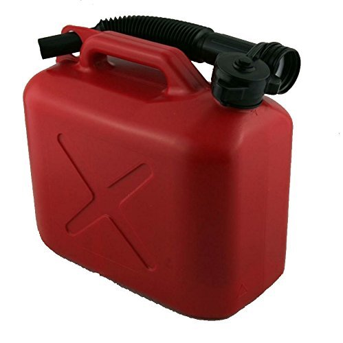 5 LITRE 5L 5000ML JERRY CAN JERRYCAN FUEL DESSEL PETROL 2 STROKE MIX OIL WATER Wheels N Bits