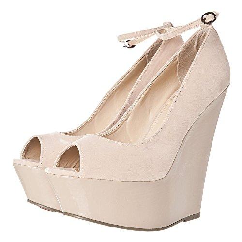 Zapatos Tacón Light Cream Beige Ark Mujer Con vwqOdpPPS