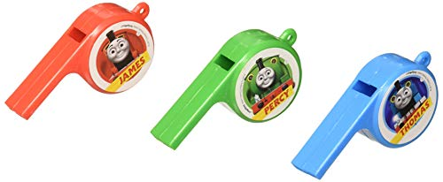 """""""Thomas All Aboard"""" Packaged Whistles, Party Favor, 72 Ct"""