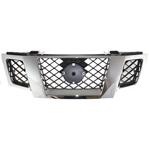 (Koolzap For Front Grill Grille Assembly NI1200233 62310ZL00B 09-14 Frontier Pickup Truck)