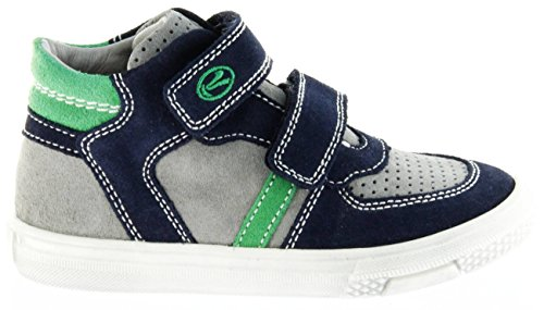 Richter Kinder Halbschuhe Sneaker Blau Leder Jungen-Schuhe 6242-141-7201 Atlantic Mose, Farbe:Blau, Größe:35