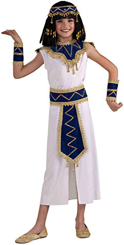 Forum Novelties Princess of the Pyramids Egyptian Child's Costume, Large (Egyptian Women Costume)