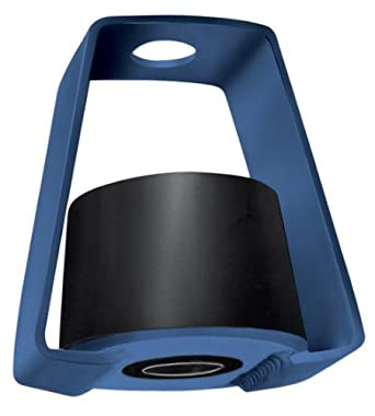 "Mason HD-A-BLACK Rubber Double Deflection LDS Hanger Vibration Isolator for Rod Attachment, 45lbs Capacity, 0.35"" Deflection, Black"