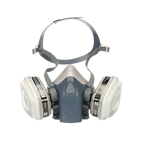 3M 7511PA1-A-PS Professional HalfMask Organic Vapor, N95 Respirator Assembly, Small by 3M Safety (Image #2)