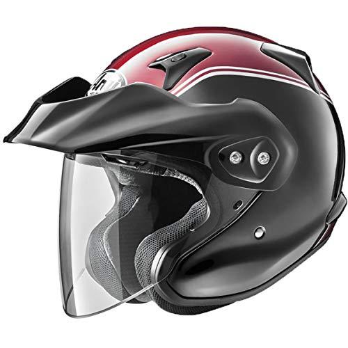 - Arai XC-W Helmet - Gold Wing (MEDIUM) (RED/BLACK)