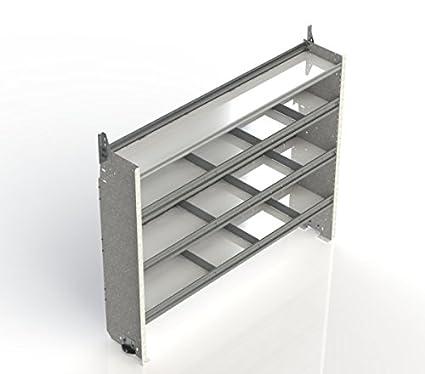 69003ddd2b American Truck Equipment Ranger Design Square back shelving unit with 1  open   3 divided shelves